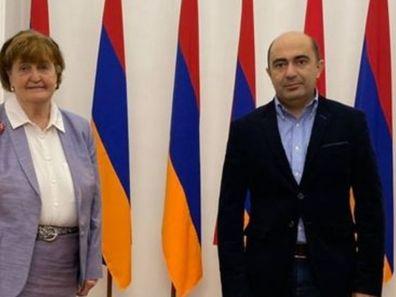 Բարոնուհին իր պատվիրակությամբ կարևոր առաքելություն ունի, որը պետք է իրականացնի այս օրերին Հայաստանում և Արցախում. Էդմոն Մարուքյանը