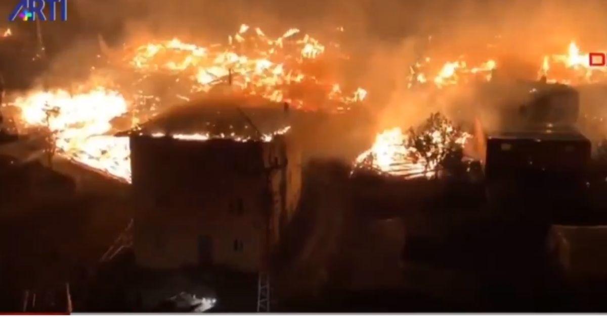 Թուրքիայում հրդեհից մի ամբողջ գյուղ է այրվել, այդ թվում՝ մեկ մզկիթ