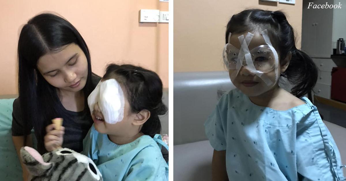 4 –ամյա աղջնակը կարող էր զրկվել  տեսողությունից  նրա ծնողների սխալի պատճառով,  բոլոր ծնողները պետք է իմանան սրա մասին