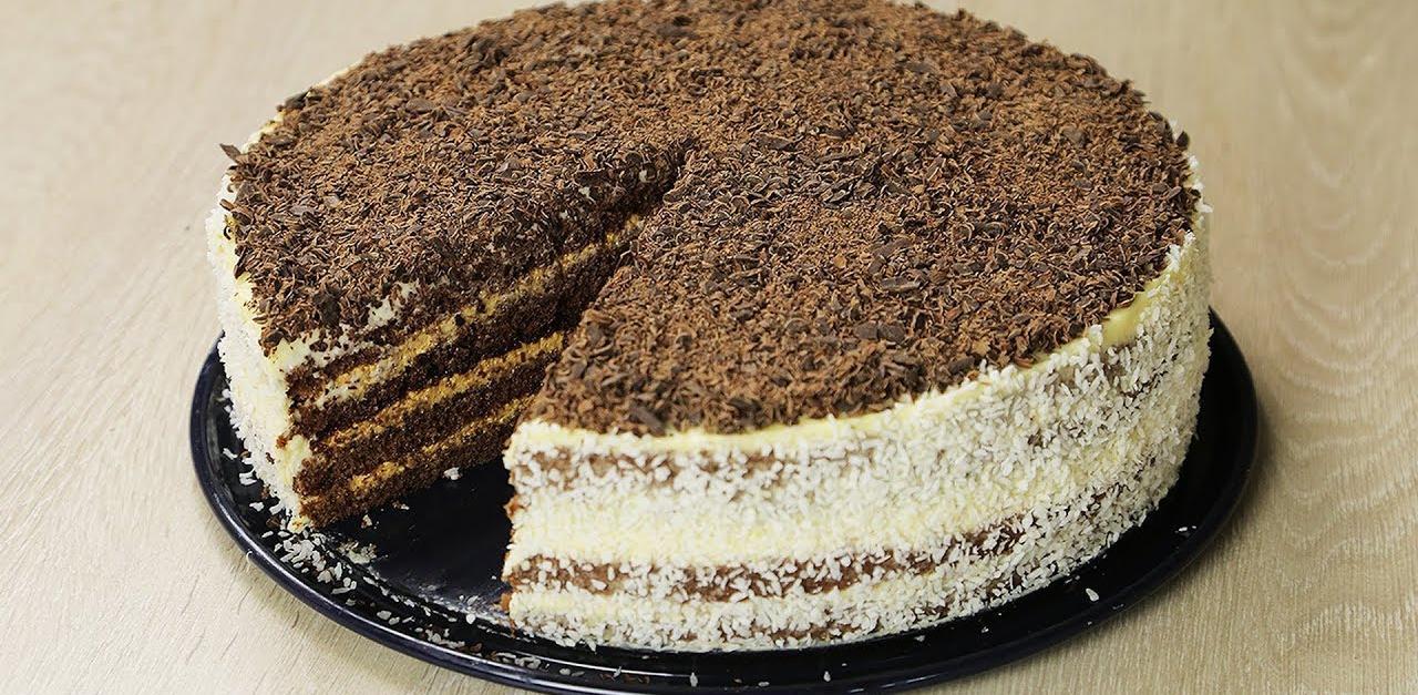 Մատչելի եղանակով պատրաստովող շոկոլադե տորթի բաղադրատոմս