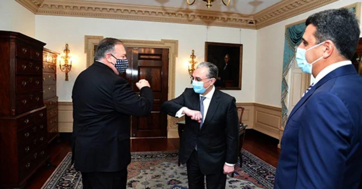 Երեկ Վաշինգտոնում պետքարտուղար Մայք Պոմպեոն հանդիպումներ ունեցավ Հայաստանի ԱԳ նախարար Զոհրաբ Մնացականյանի և Ադրբեջանի ԱԳ նախարար Ջեյհուն Բայրամովի հետ