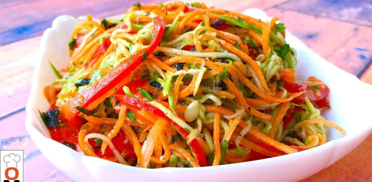 Բանջարեղենով կորեական ուտեստ, որը դիետիկ է և ձեզ կպարգևի հիանալի