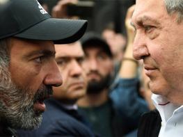 Հակակշռել Քոչարյանի դիմադրության շարժումը. Փաշինյանի առաջարկը Արմեն Սարգսյանին