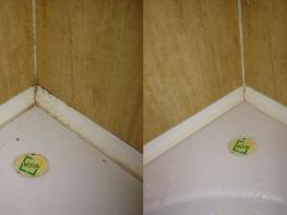 Ինչպես շատ հեշտությամբ վերացնել լոգասենյակի սալիկների արանքների նստվածքը