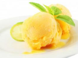 Сорбет из апельсинов и меда