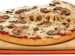 Արագ և հեշտ Սնկով պիցցա