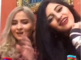 """Հայուհին և ադրբեջանուհին կատարում են """"Մի գնա"""" երգը (տեսանյութ)"""