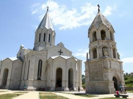 Աստծո հրաշքը Շուշիի Ամենափրկիչ եկեղեցու շուրջ՝ 300 մետր շառավղով մի գունդ բացվեց