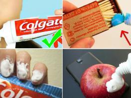 10 способов применения зубной пасты, о которых вы не знали