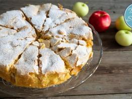 Շատ համեղ և օրիգինալ խնձորով թխվածքի անչափ համեղ բաղադրատոմս