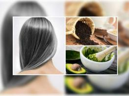 Մազերի վաղաժամ սպիտակության դեմ 6 բնական միջոց