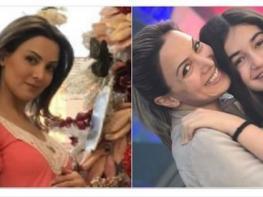 Անժելա Սարգսյանը հղի է․ նա կլոր փորիկով լուսանկարներ է հրապարակել շքեղ տոնածառի կողքին