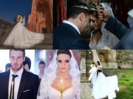 Գեղեցիկ զույգի պարը հիացրել է հայկական հարսանիքի հյուրերին (տեսանյութ)