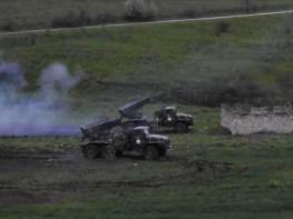Չհրապարակված տեսանյութ. Ապրիլյան պատերազմի առաջին րոպեները