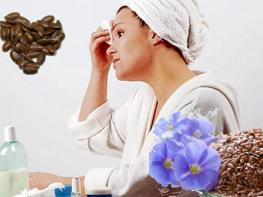 Рецепты масок для лица из льняного семени с эффектом лифтинга