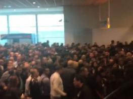 Տեսանյութ. արտակարգ իրավիճակ՝ «Զվարթնոց» օդանավակայանում